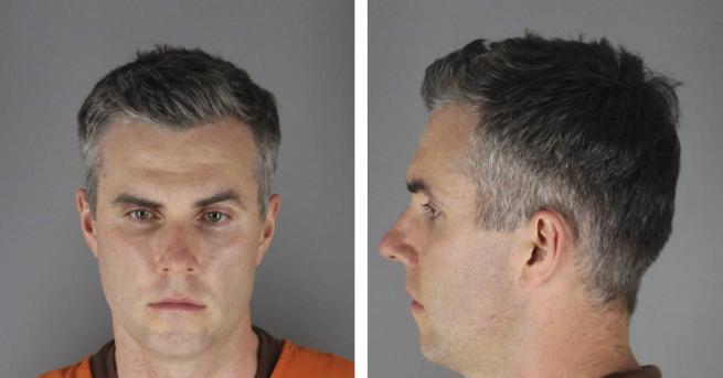 Свят Сред полицаите убили Флойд има престъпник рецидивист Лейн стартира