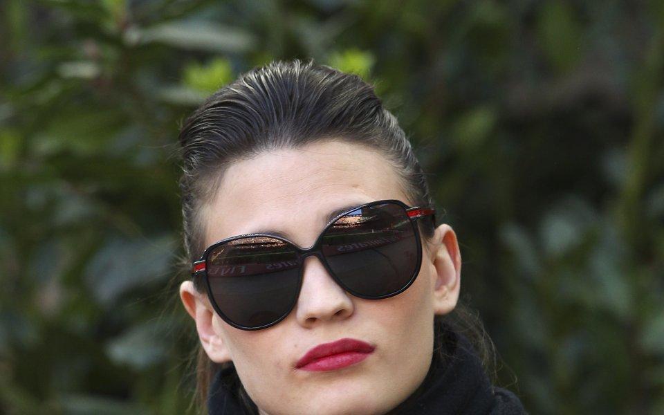 Съпругата на бившият италиански национал Антонио Касано Каролина Марсиалис нажежава