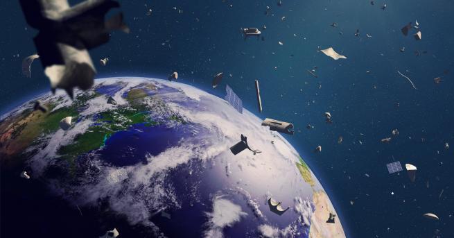 Япония разработва нов метод за унищожаване на космическите отпадъци Според