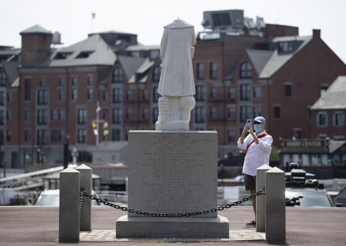 статуи паметници расизъм сащ европа