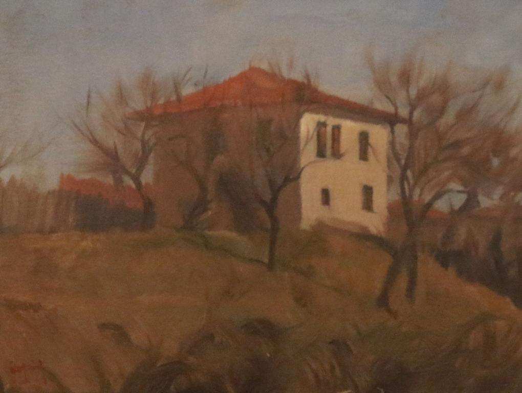 <p>Къща на хълма</p>