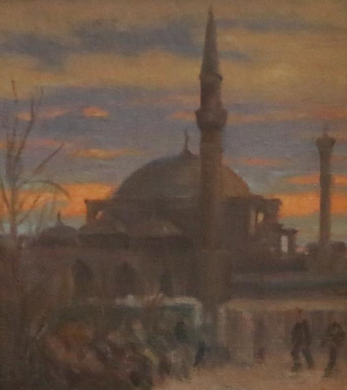 <p>Джамията Баня Баши</p>