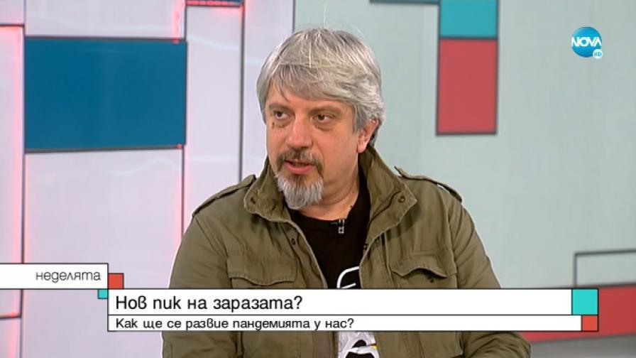 Представителят на Оперативния щаб, математикът проф. Николай Витанов