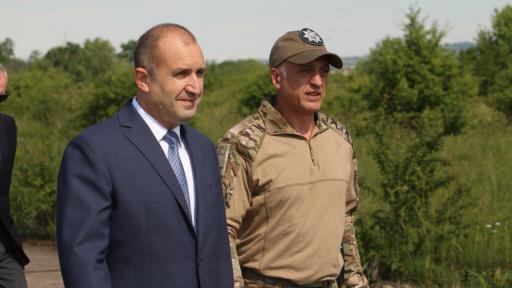 Президентът Радев назначи нов шеф на НСО