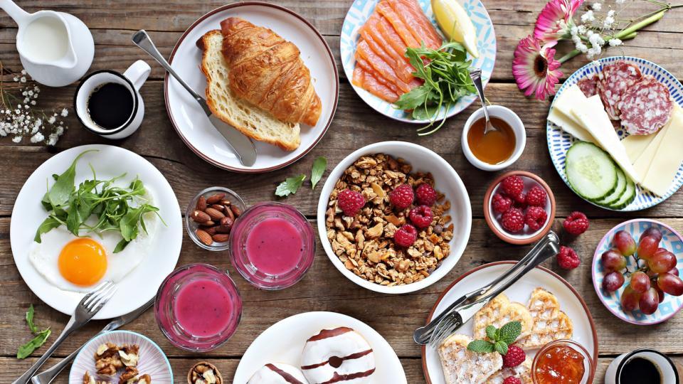 храна маса брънч закуска