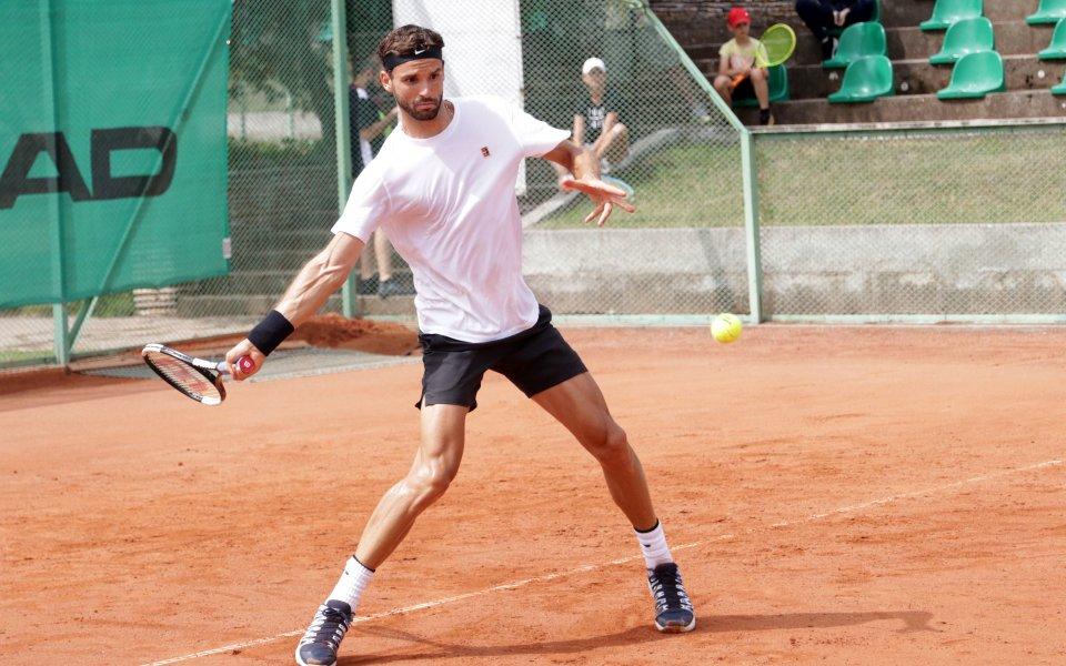 Григор Димитров се пуска на турнир в Австрия