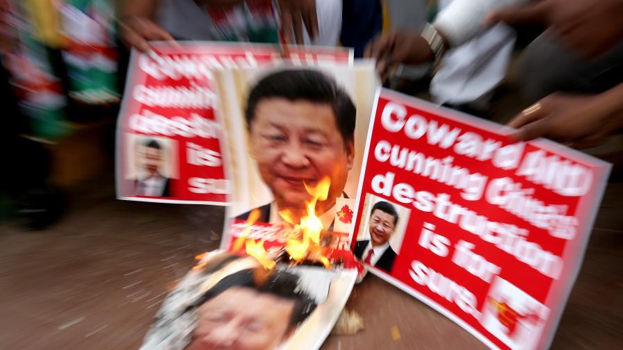 Сражение между Индия и Китай, десетки загинали