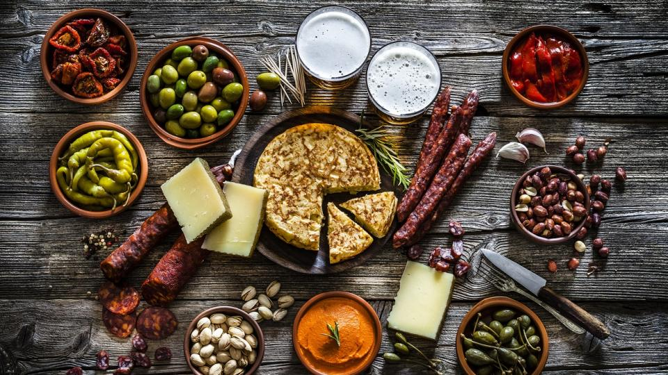 тапас Испания маса храна вкусно