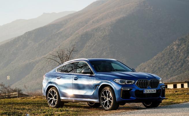 Колкото повече, толкова повече: тестваме BMW X6 M50i