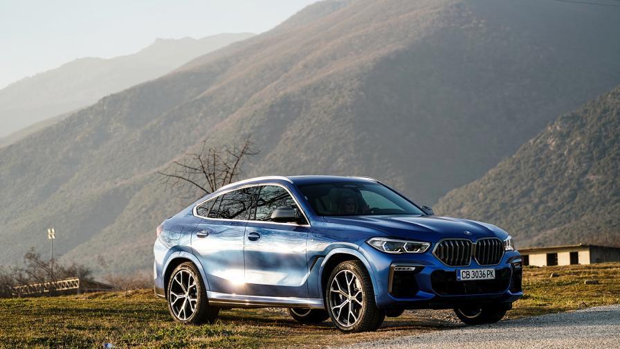 <p>Колкото повече, толкова повече: тестваме BMW X6 M50i</p>