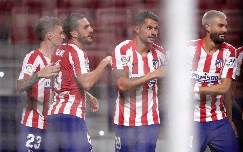 Атлетико Мадрид пречупи коравия отбор на Валядолид в мач от