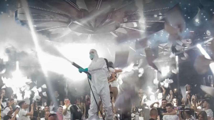 Гавра с лекарите и ковид-19 в дискотека в Благоевград
