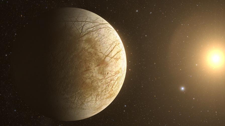 Европа - луната на Юпитер