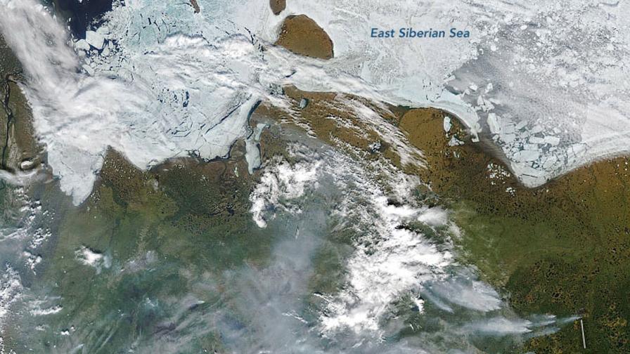 Огнено бедствие настъпва в Сибир