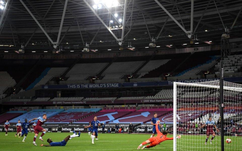 Уест Хем грабна драматично лондонското дерби срещу Челси с 3:2