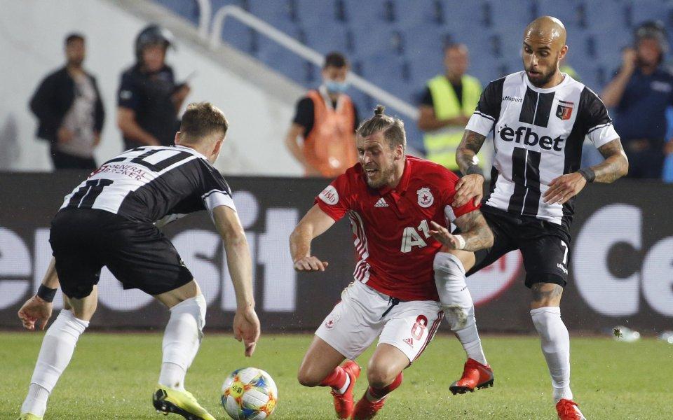 Локомотив Пловдив посреща ЦСКА в последен двубой от 30-тия кръг