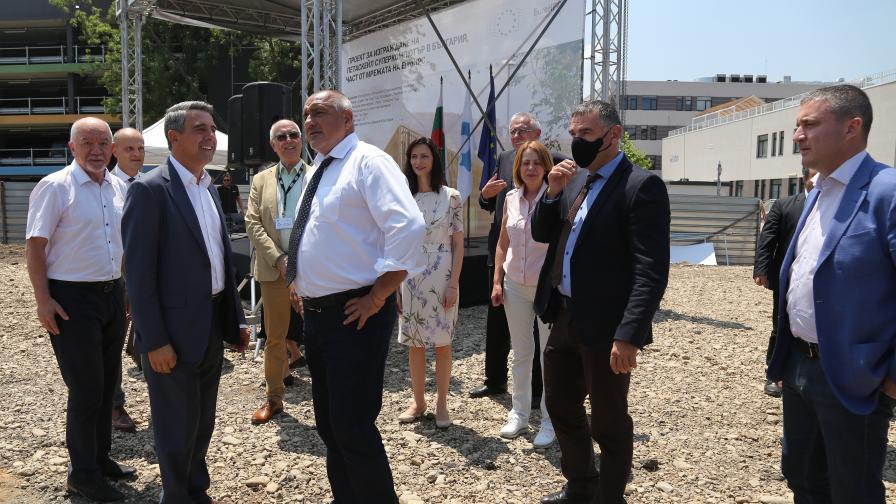 Борисов: Горди сме с това, което стартира днес