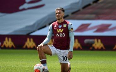 Астън Вила предлага нов договор на Грийлиш, за да откаже Юнайтед