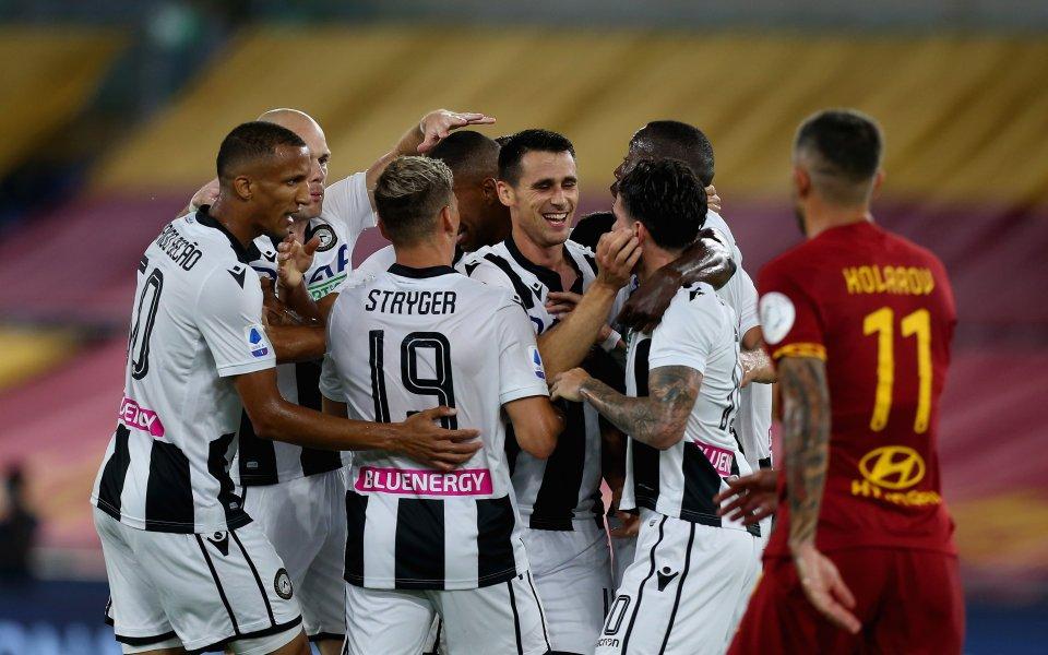 Отборът на Рома допусна втора поредна загуба в Серия А,