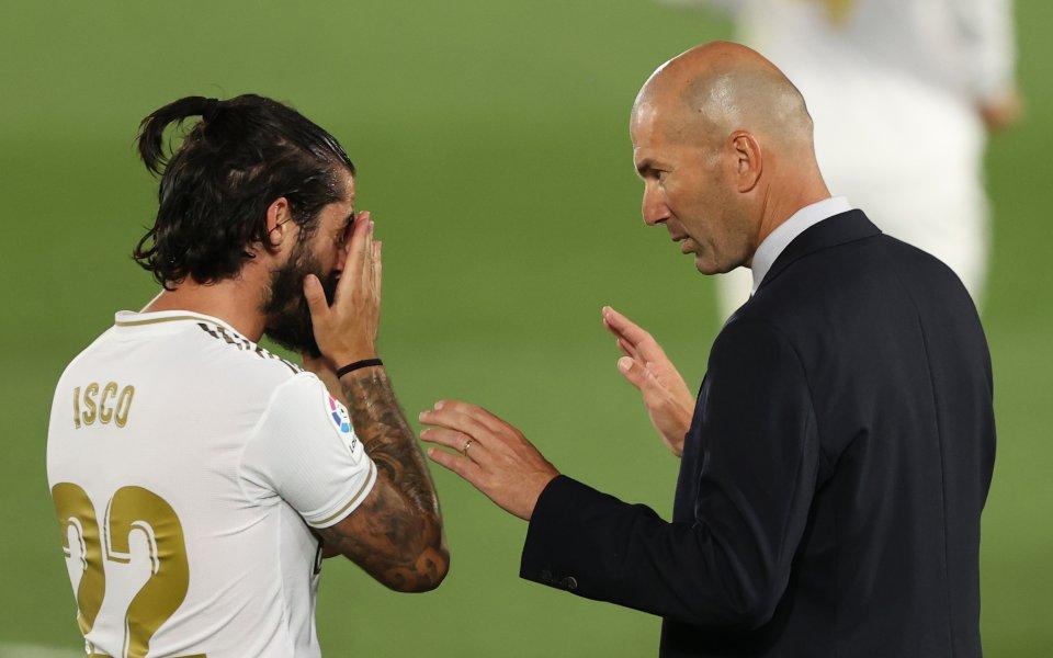 Треньорът на Реал Мадрид Зинедин Зидан очаква много тежък мач