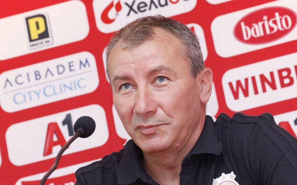 Наставникът на ЦСКА Стамен Белчевсподели първите си впечатления след равенството
