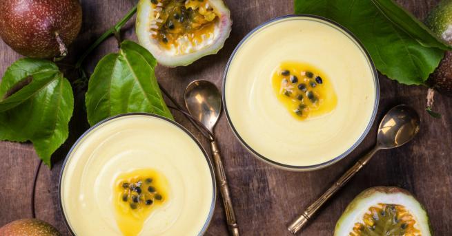 Любопитно Най-популярният десерт в Бразилия: Мус от маракуя Вижте как