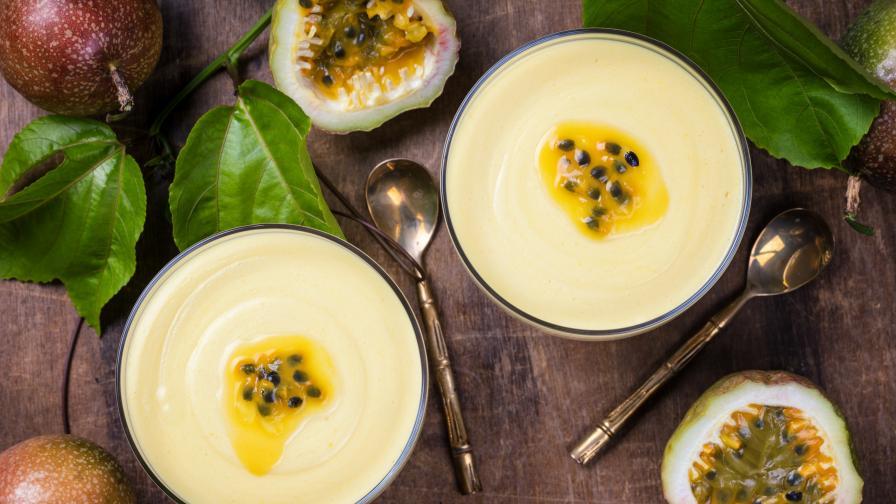 Най-популярният десерт в Бразилия: Мус от маракуя