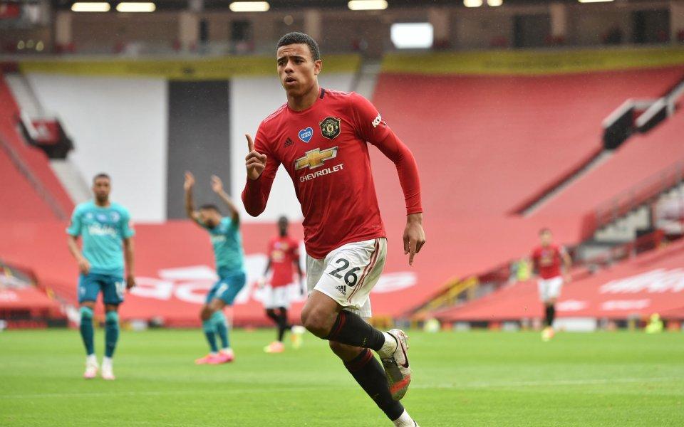 Мениджърът на Манчестър Юнайтед Оле Гунар Солскяр определи тийнейджъра Мейсън