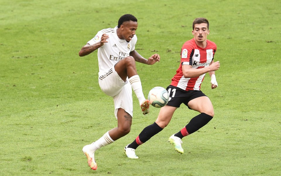 Атлетик Билбао и Реал Мадрид играят при 0:0 в голямото