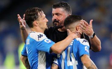 Наполи удължи агонията на Рома