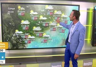 Прогноза за времето (07.07.2020 - сутрешна)