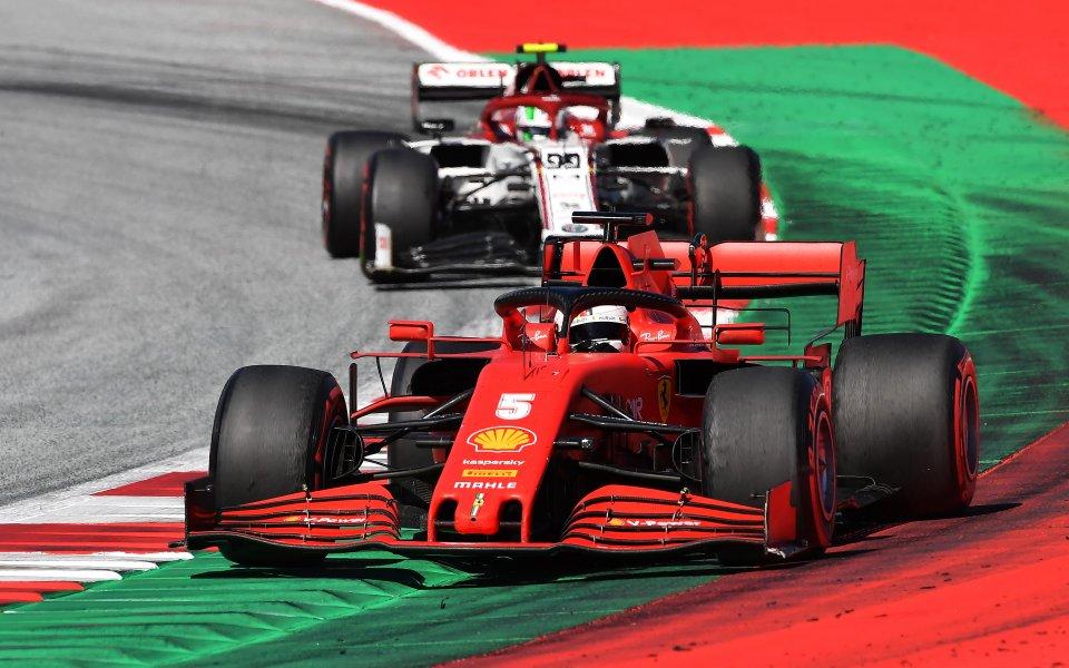 От Ферари разкриха колко не им е достигнало в Австрия