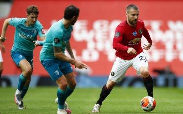 Люк Шоу: Приоритет за Юнайтед е завършване в топ 4