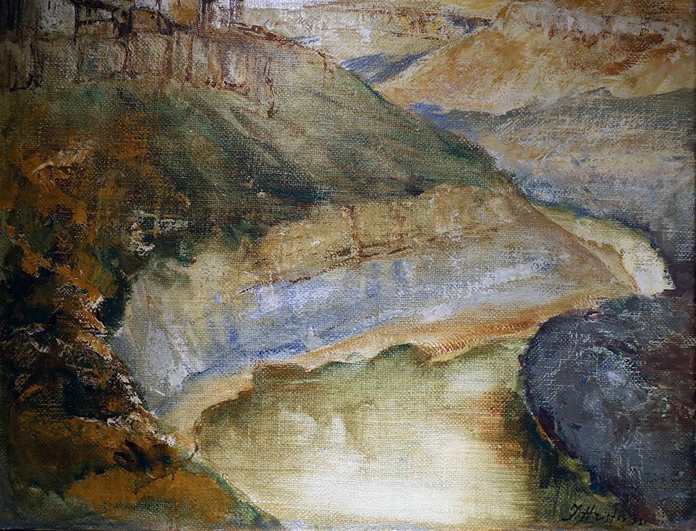 <p>Иван Христов</p>  <p>Търново, 1931 маслени бои, платно</p>