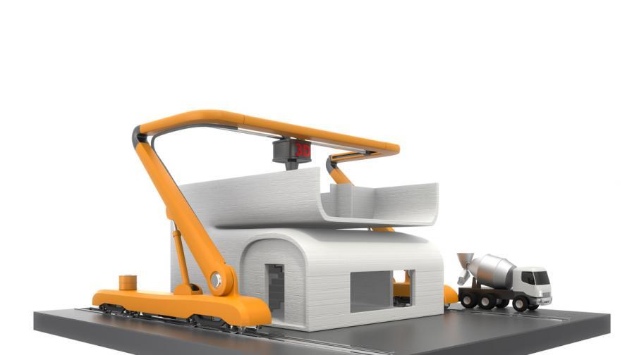Робот построи къща за 48 часа, 1 век гаранция