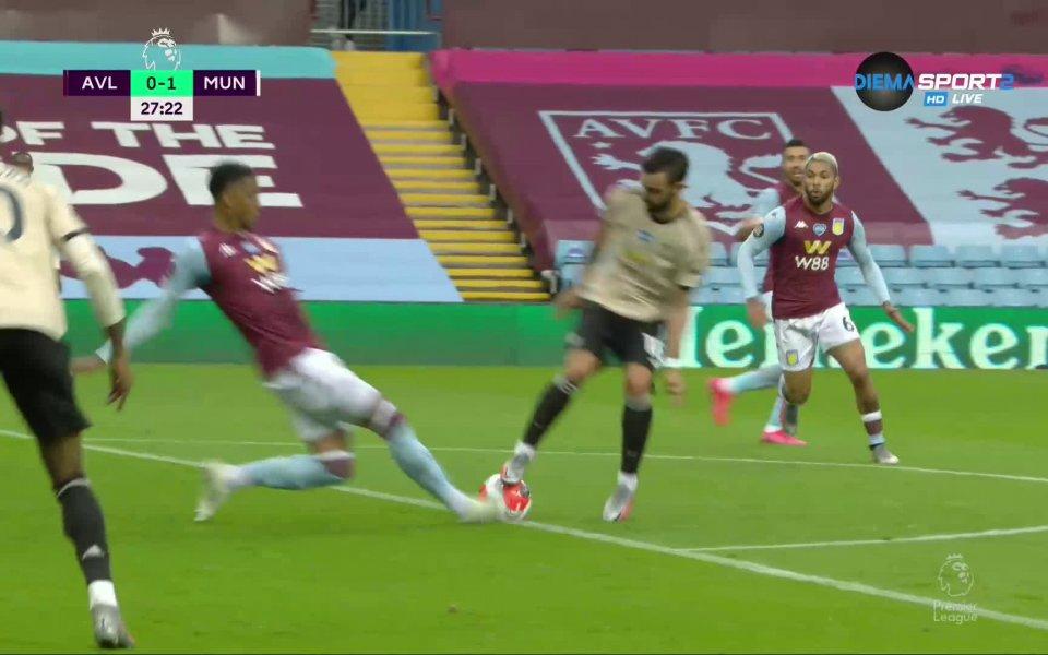Отборът на Манчестър Юнайтед поведе с 1:0 срещу състава на