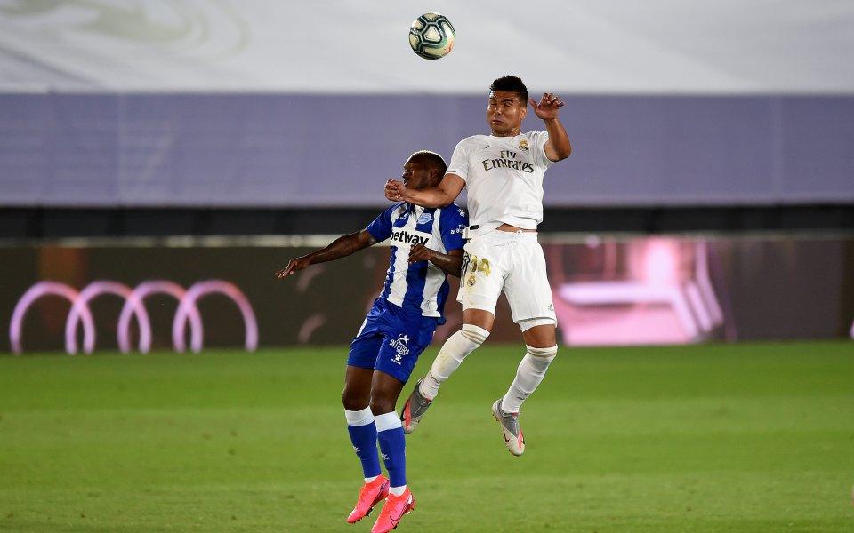 Реал Мадрид посреща Алавес в мач от 11-ия кръг на
