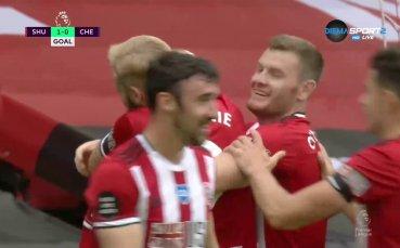 Шефилд Юнайтед - Челси 2:0 /първо полувреме/