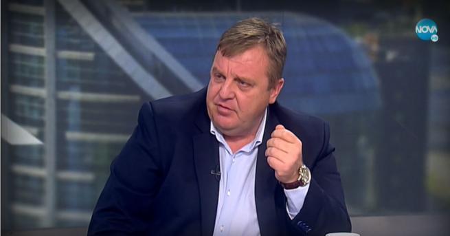 България Каракачанов: Президентът излезе от ролята си Вицепремиерът с ексклузивен