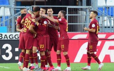 Рома сe върна в ритъм след гръмка победа над опашкар