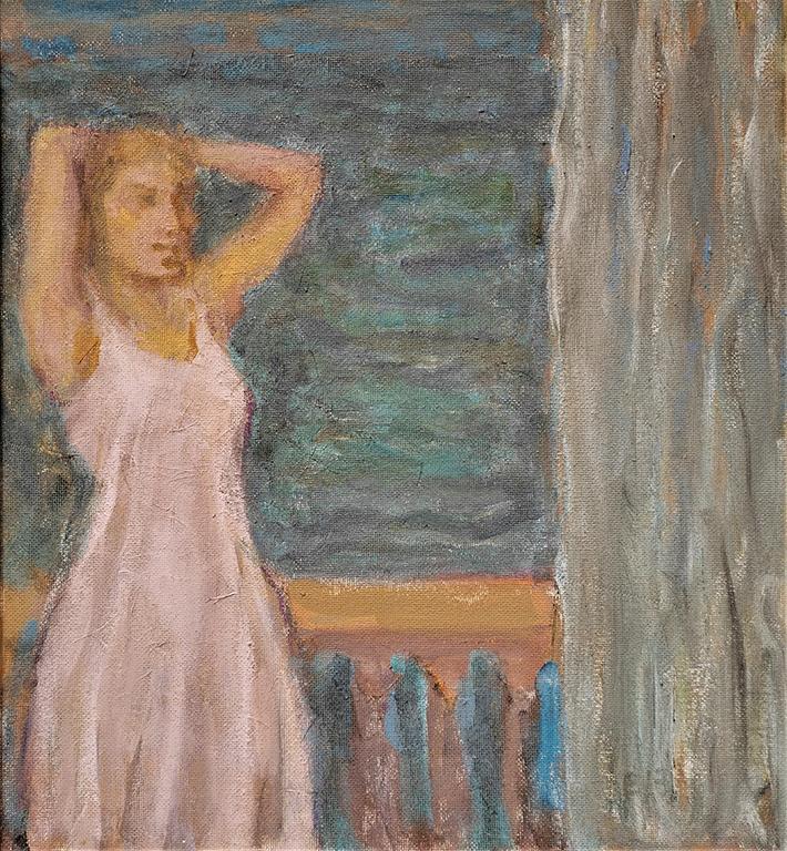 <p>Балконът</p>  <p>Елза&nbsp;(1928)&nbsp;и Владимир Гоеви&nbsp;(1925&nbsp;&ndash; 2013)&nbsp;са не просто едно от известните ни художнически семейства, но те се родеят и допълват в своите начини на рисуване.</p>