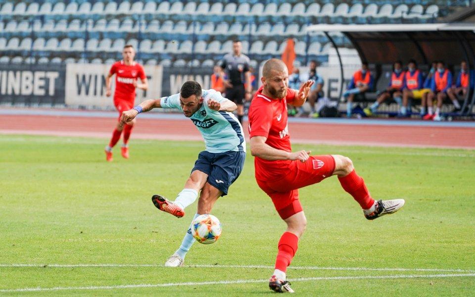 Дунав Русе постигна победа с 1:0 Царско в последен двубой