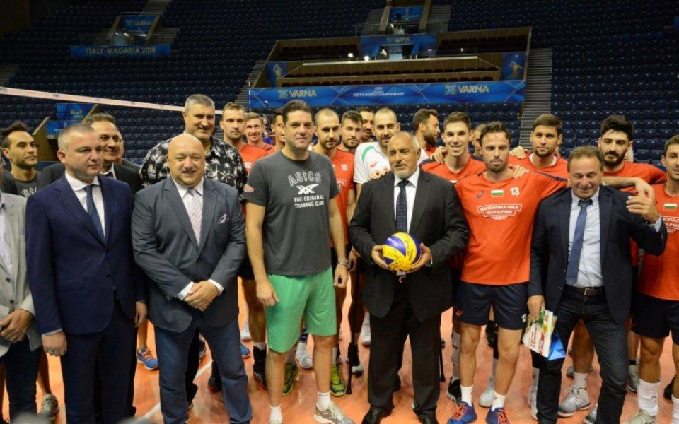 Българската федерация по волейбол изрази подкрепата си към правителството. От