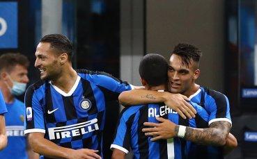 Интер преобърна Торо и си върна второто място в Италия