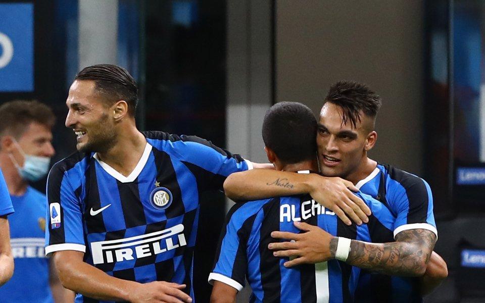 Тимът на Интер постигна пълен обрат над Торино и го