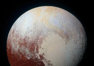 Плутон e бил покрит с океани