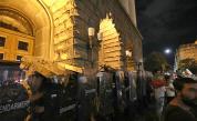 Полицаите, разследвани за насилие над протестиращи, са отстранени