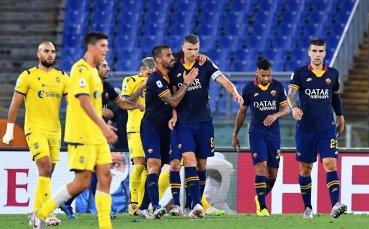 Джеко се нареди сред най-добрите в историята на Рома