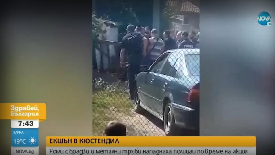 Оставиха в ареста братята, нападнали полицаи с ножове, секири и метални пръти
