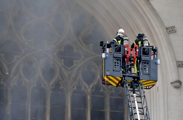 Пожар Нант